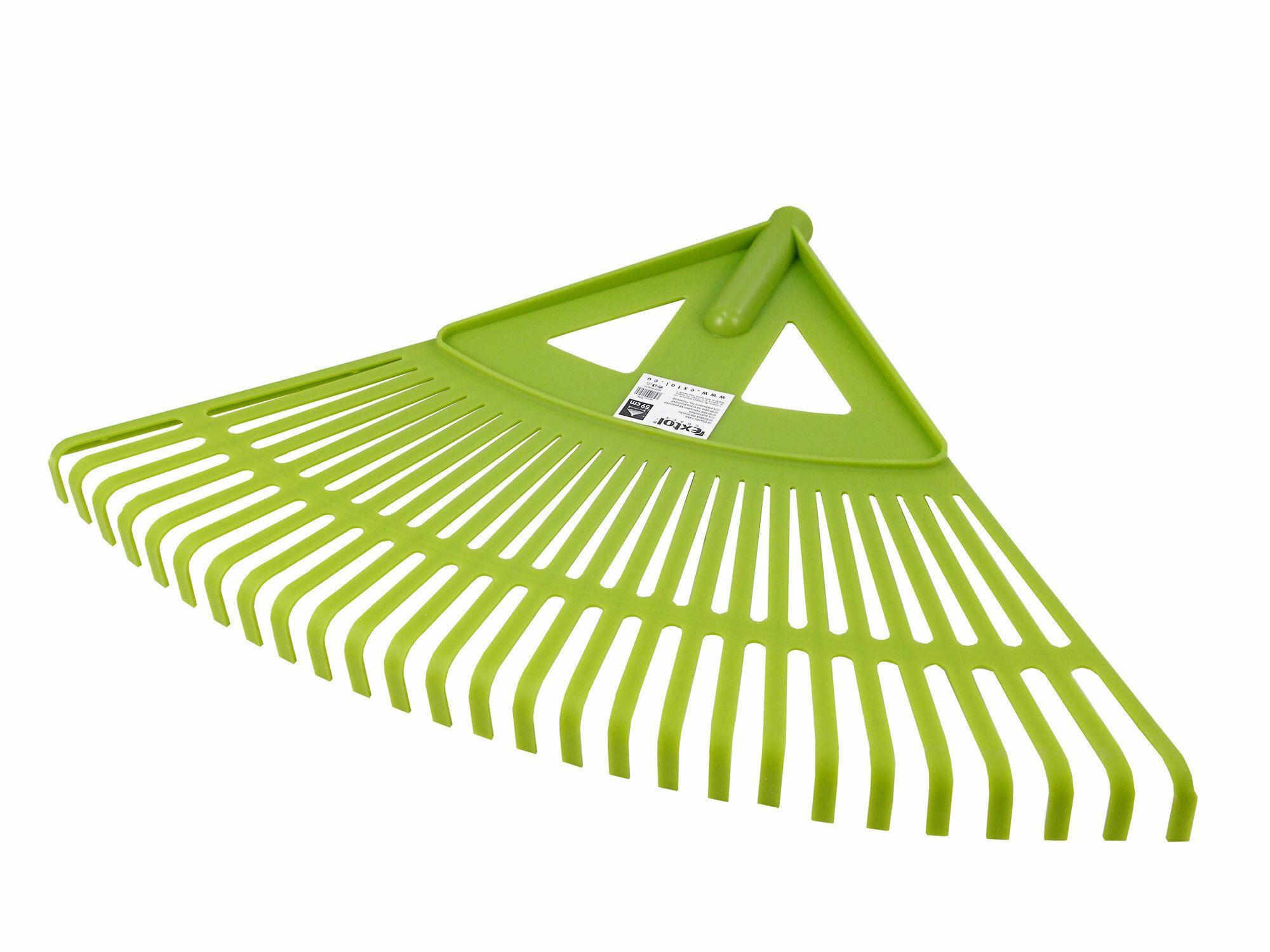 Hrábě zahradnické plastové bez násady, šířka 59cm, vyrobeno z PP