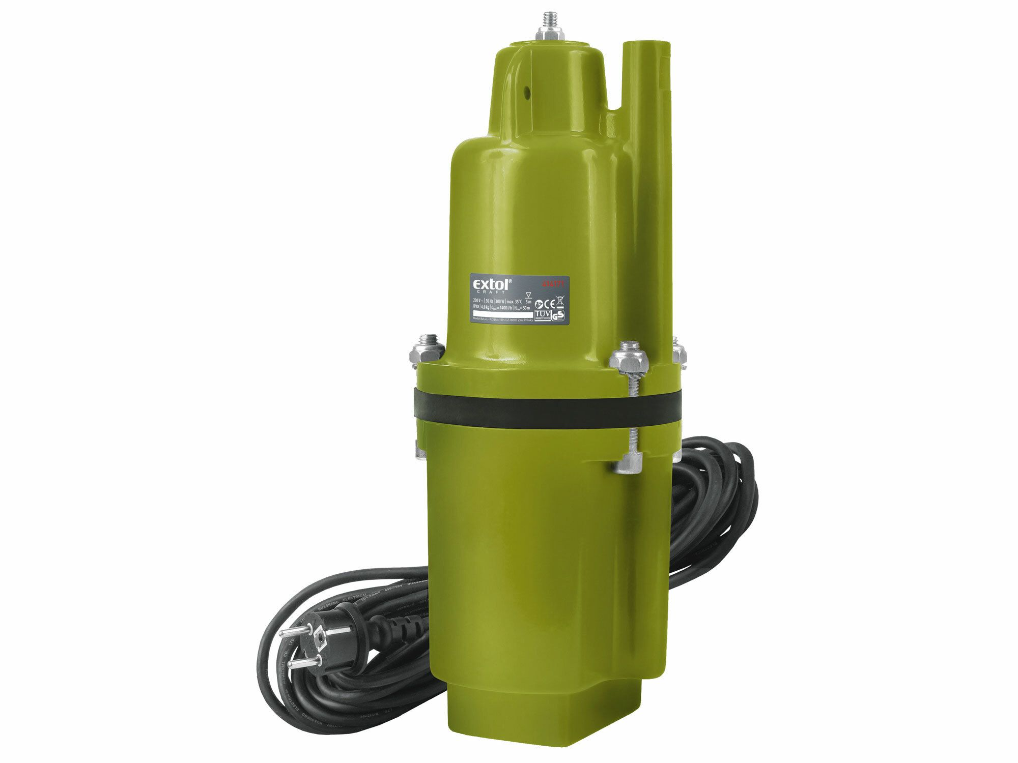 Čerpadlo membránové hlbinné ponorné, 300W, 1400l/hod, 20m, EXTOL CRAFT, 414171