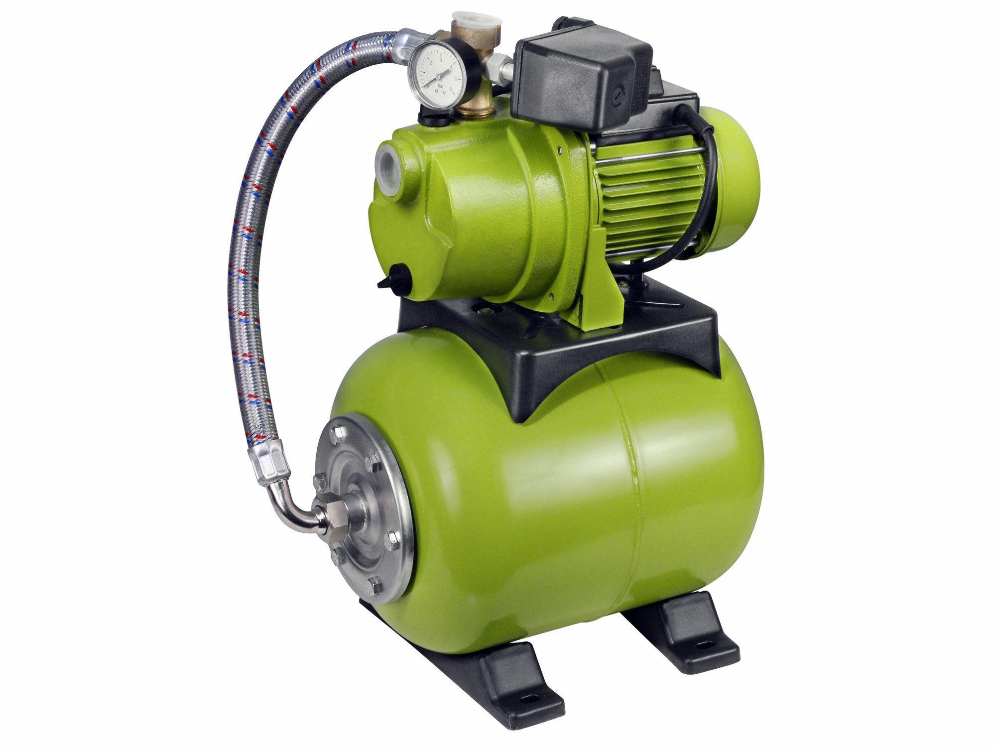 Čerpadlo el. prúdové s tlak. nádobou, 1200W, 3800l/hod, 20l, EXTOL CRAFT, 414251