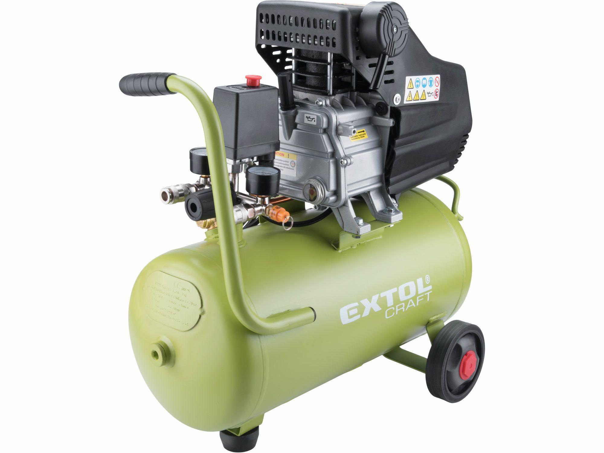 Kompresor olejový, 2800/min, 24l, EXTOL CRAFT, 418201