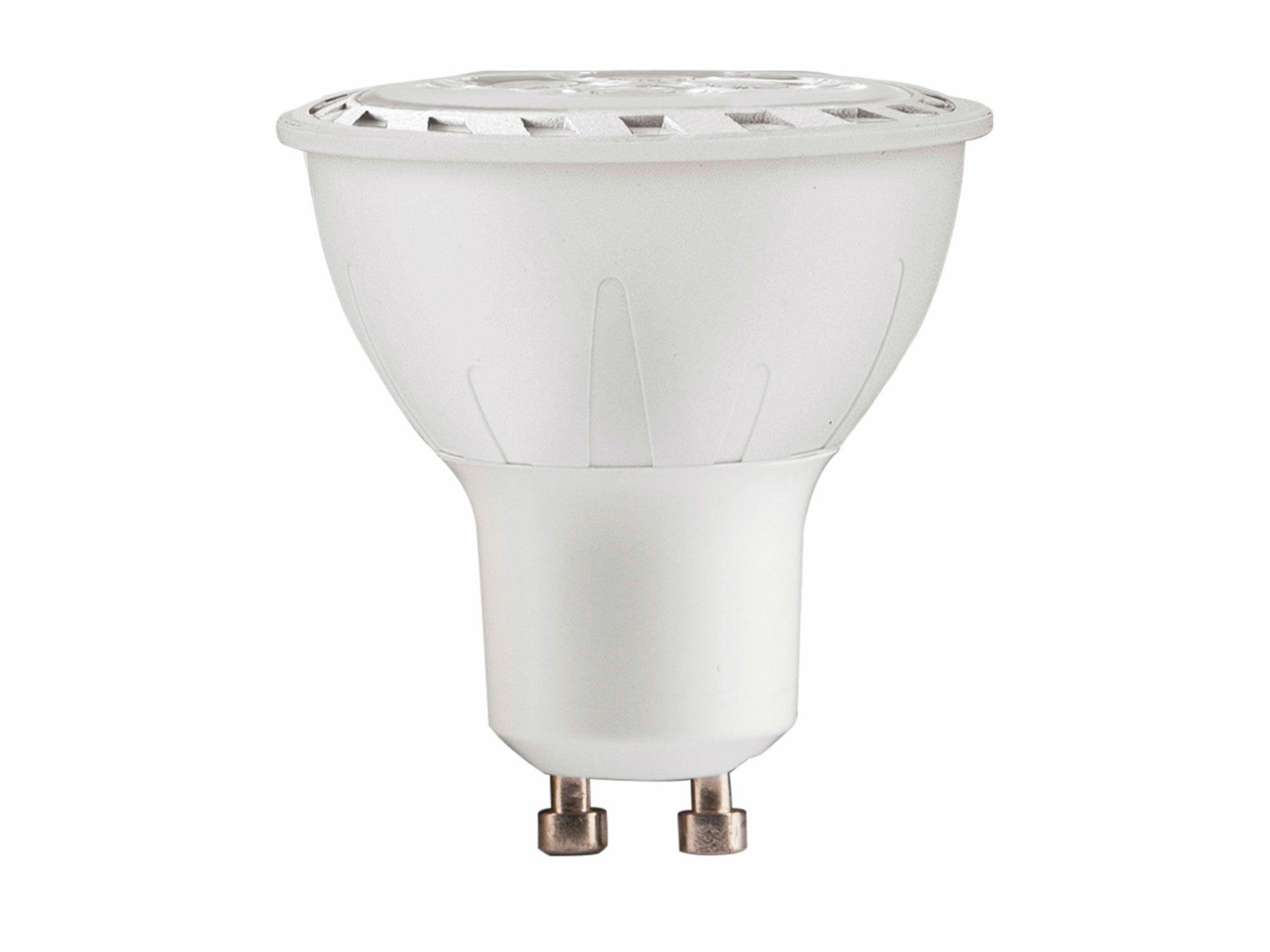 Žárovka LED reflektorová bodová, 7W, 580lm, GU10, teplá bílá, COB, EXTOL LIGHT
