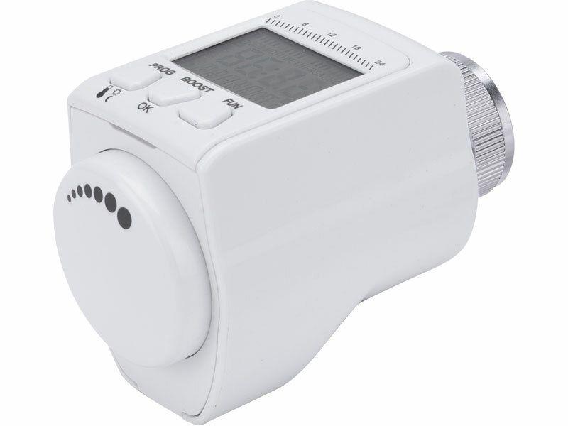 Hlavice termostatická pro radiátor, programovatelná