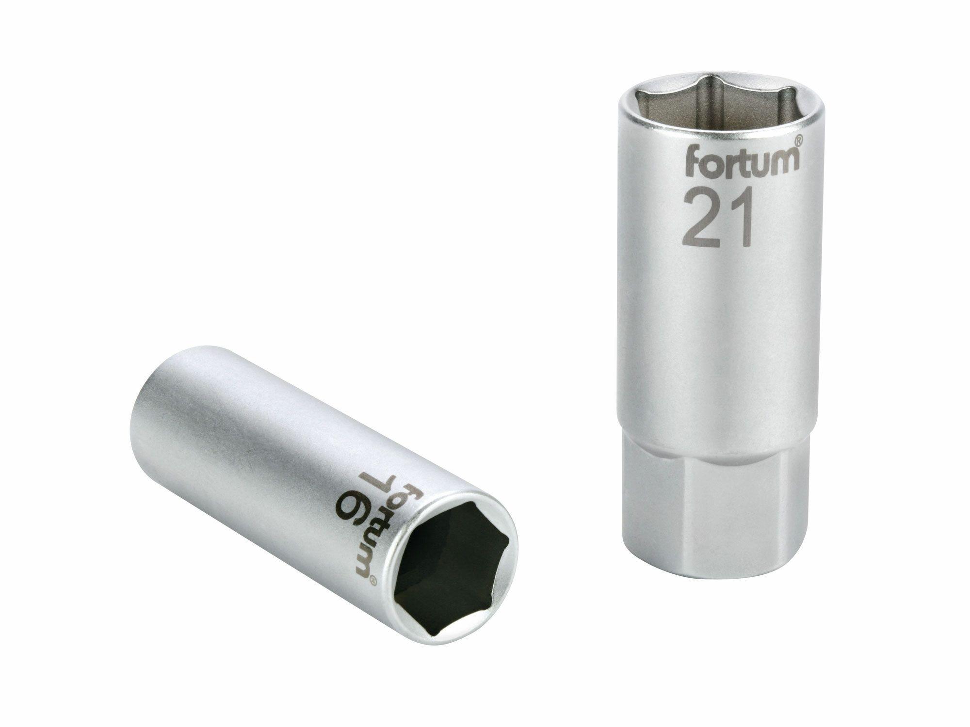 """Hlavice nástrčná na zapalovací svíčky, 1/2"""", 21mm, L 65mm, 61CrV5"""