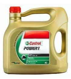 Motocyklový olej Castrol POWER1 4T 10W40 4L