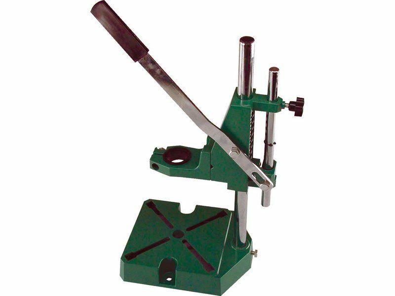 Stojan na vŕtačku, R43mm, plastová redukcia na úchyt R38mm, EXTOL CRAFT