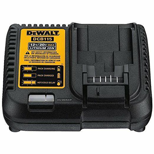 Dewalt XR nabíječka 1 hodina 10,8 V, 14,4 V a 18 V