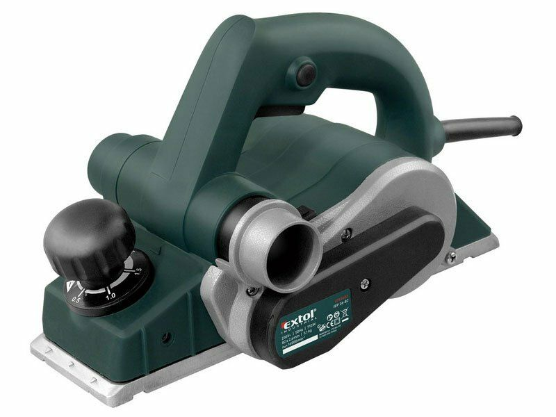 Hoblík elektrický, 710W, 82mm, 0-2,6mm, EXTOL INDUSTRIAL, IEP 26-82, 8793403