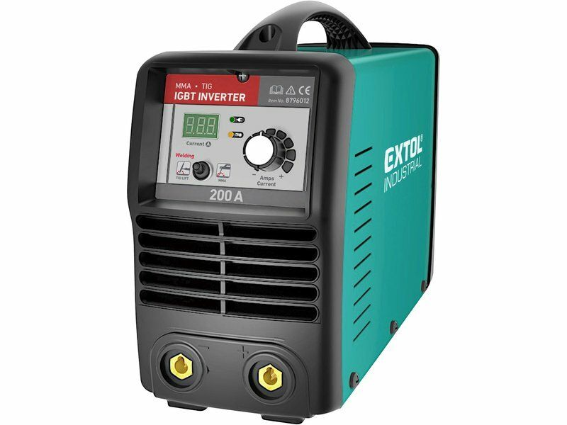 Invertor svařovací 200A Smart, EXTOL INDUSTRIAL, 8796012, záruka 3 roky