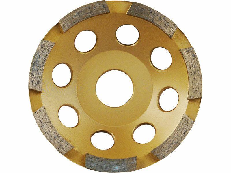 Kotúč diamantový brúsny jednoradový, 125x22,2mm, EXTOL PREMIUM