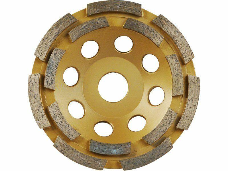 Kotúč diamantový brúsny dvojradový, 115x22,2mm, EXTOL PREMIUM