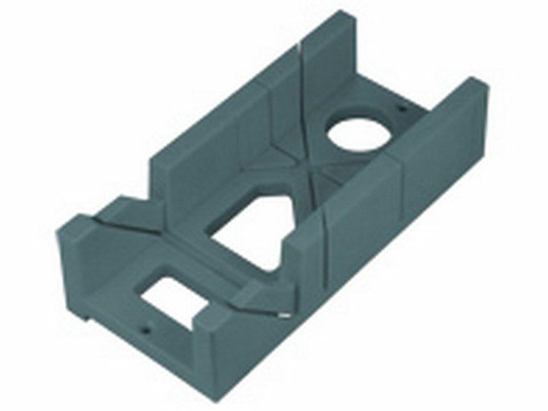 Prípravok na rezanie uhlov plastový, 300x140x70mm, uhly rezu 45° a 90°, EXTOL PREMIUM