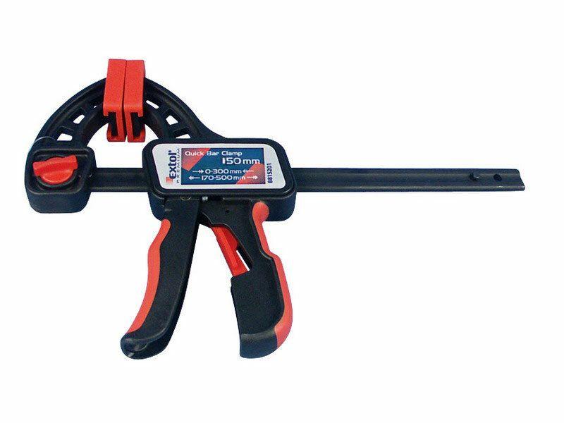 Svorka rýchloupínacia, 450mm, rozovretie: 170-600mm, EXTOL PREMIUM