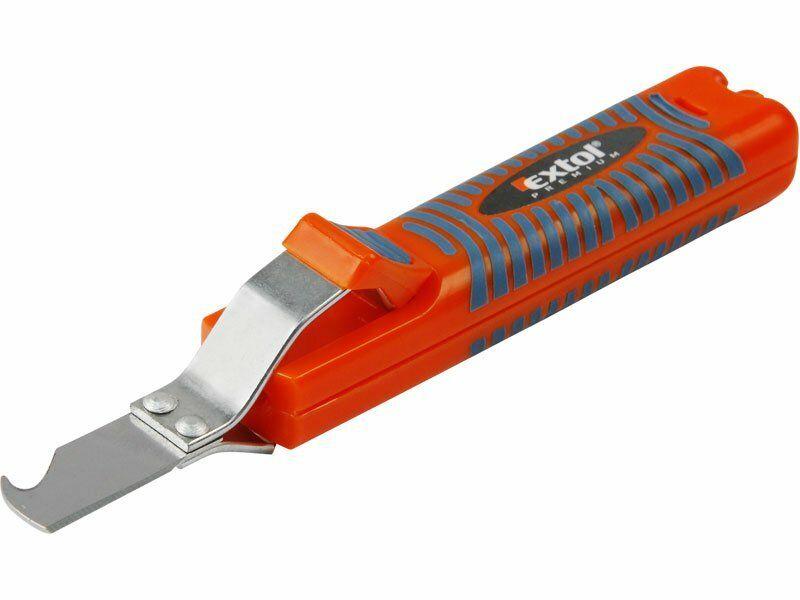 Nůž na odizolování kabelů, 8-28mm, délka nože 170mm, na kabely O 8-28mm