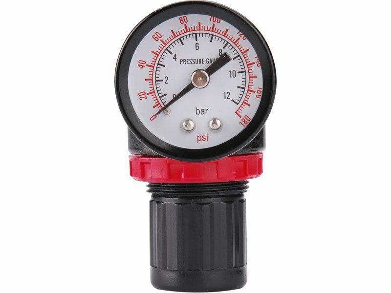 Regulátor tlaku s manometrem, max. prac. tlak 8bar (0,8MPa)