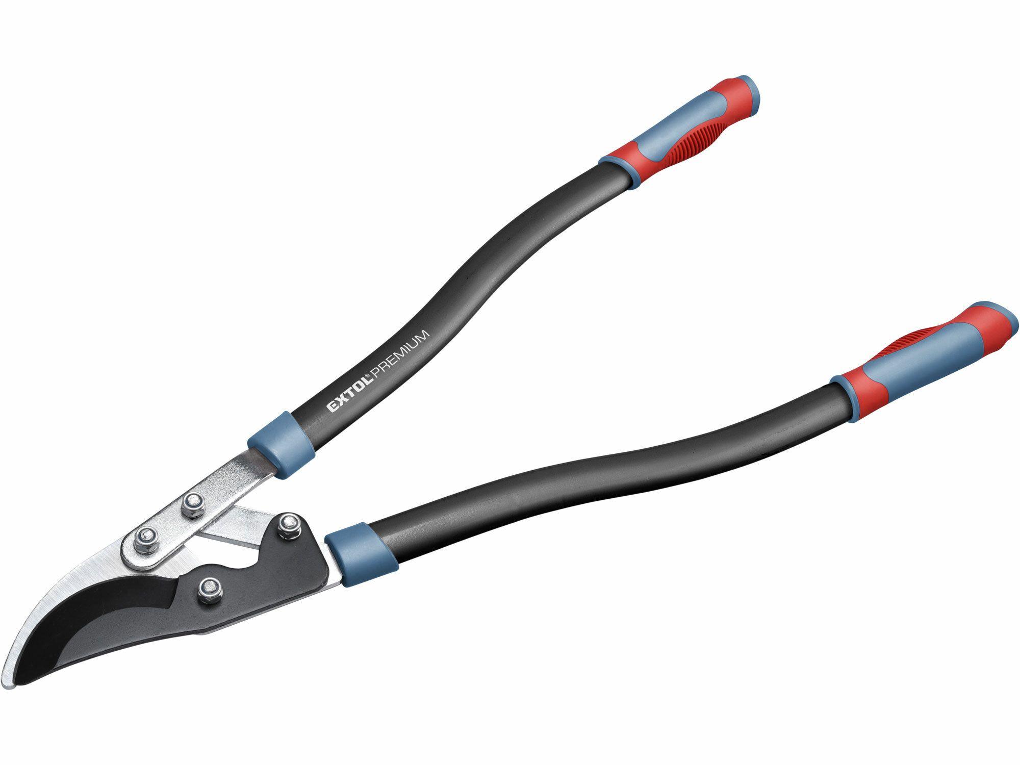Nůžky na větve převodové dvousečné, 730mm, HCS, stříhání větví do pr. 45 mm, EXTOL PREMIUM
