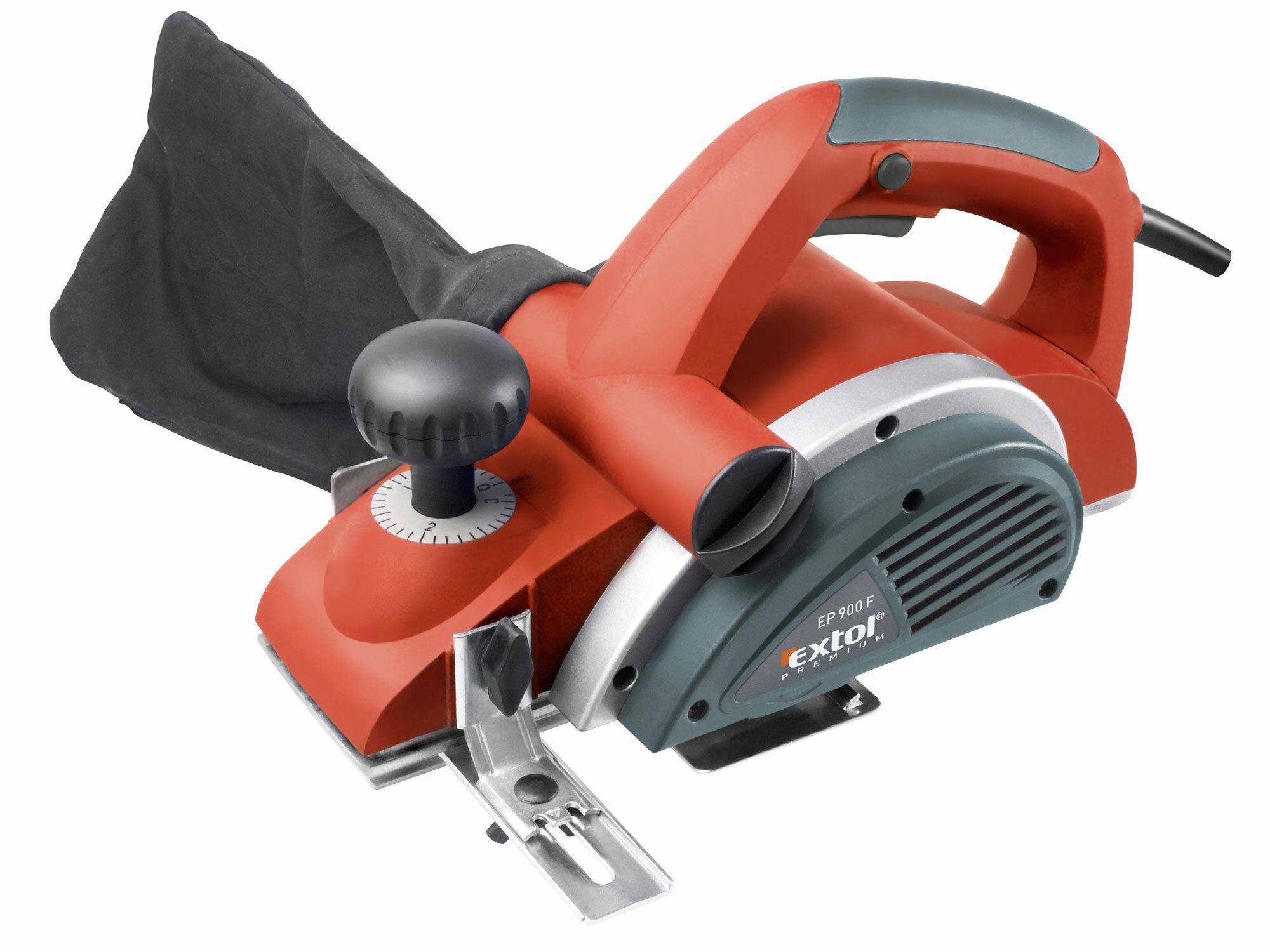 Hoblík elektrický, 900W, 82mm, 0-3mm, EXTOL PREMIUM, EP 900 F, 8893401