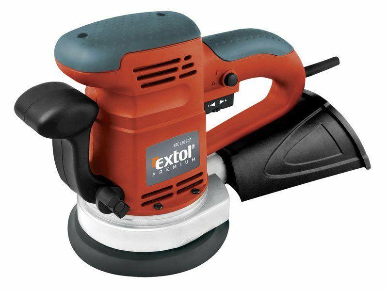 Brúska vibračná excentrická, 450W, 125 a 150mm, EXTOL PREMIUM, ERC 450 SCP, 8894202