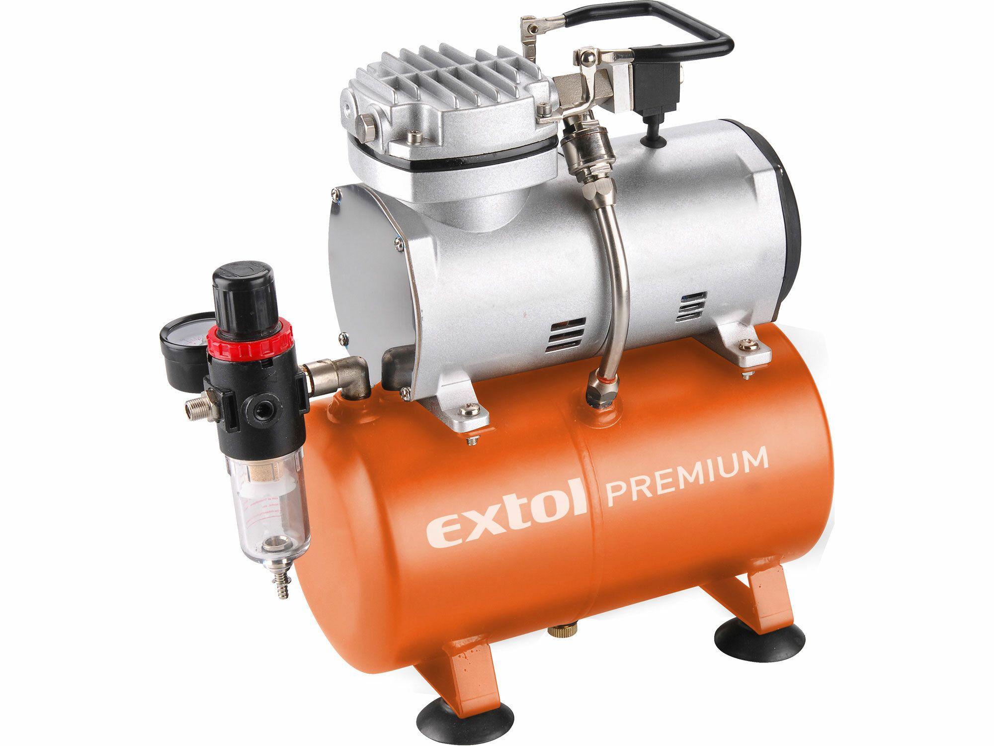 Kompresor, 150W, 3l, EXTOL PREMIUM, AC-S3, 8895300