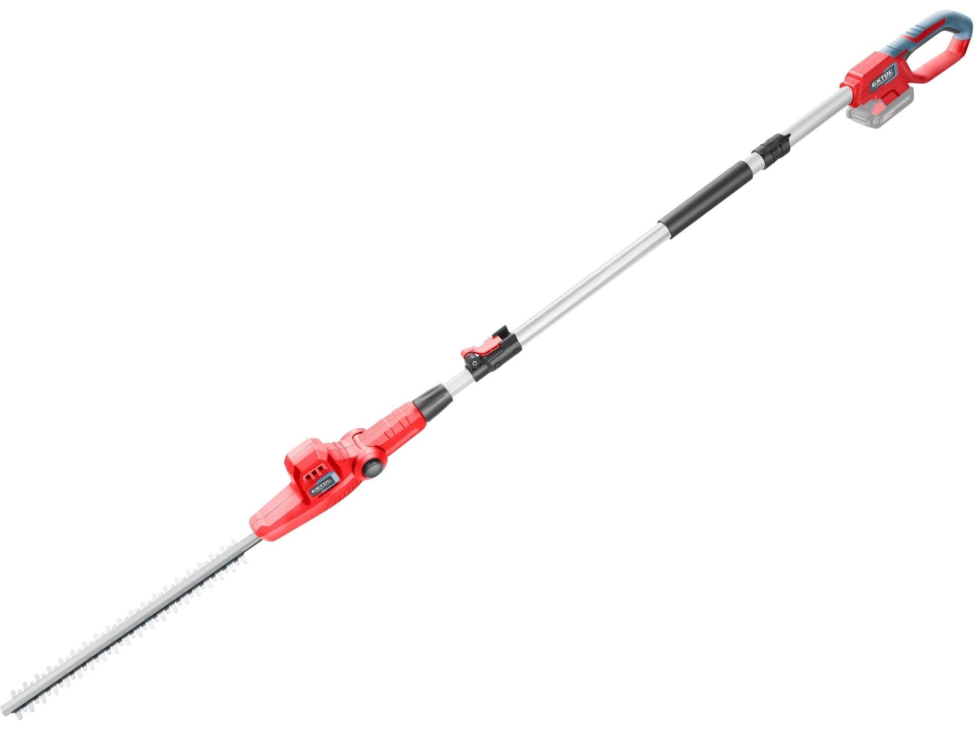 Nůžky na živé ploty aku, teleskopické 2,78m, 20V Li-ion, bez baterie a nabíječky