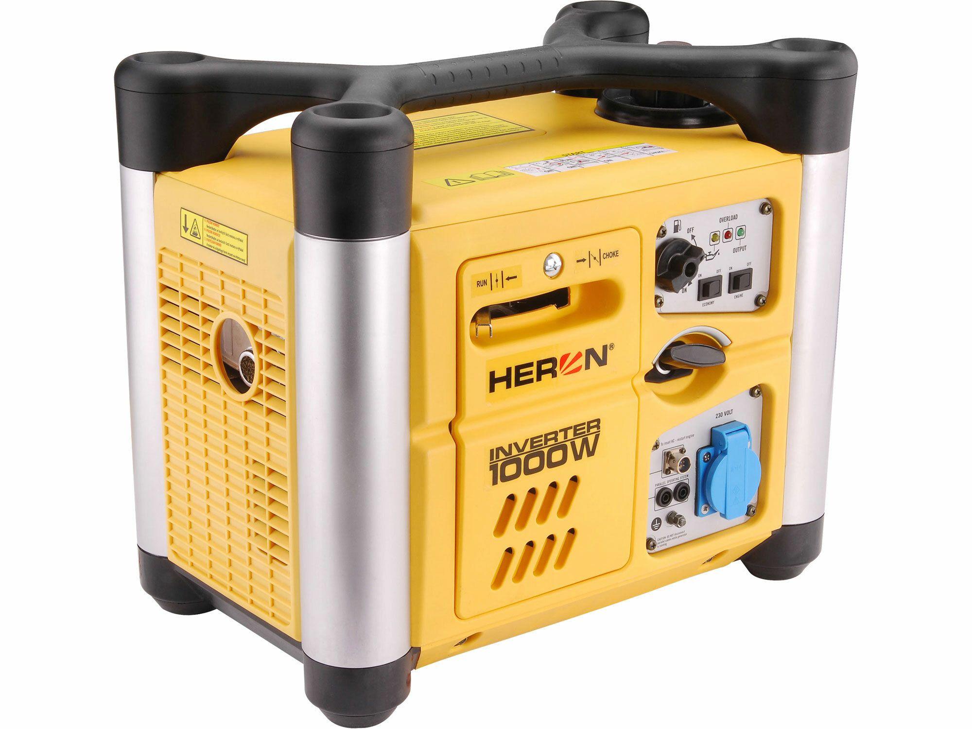 Elektrocentrála digitálna invertorová 2,0HP, 1,0kW, HERON, DGI 10 SP, 8896216