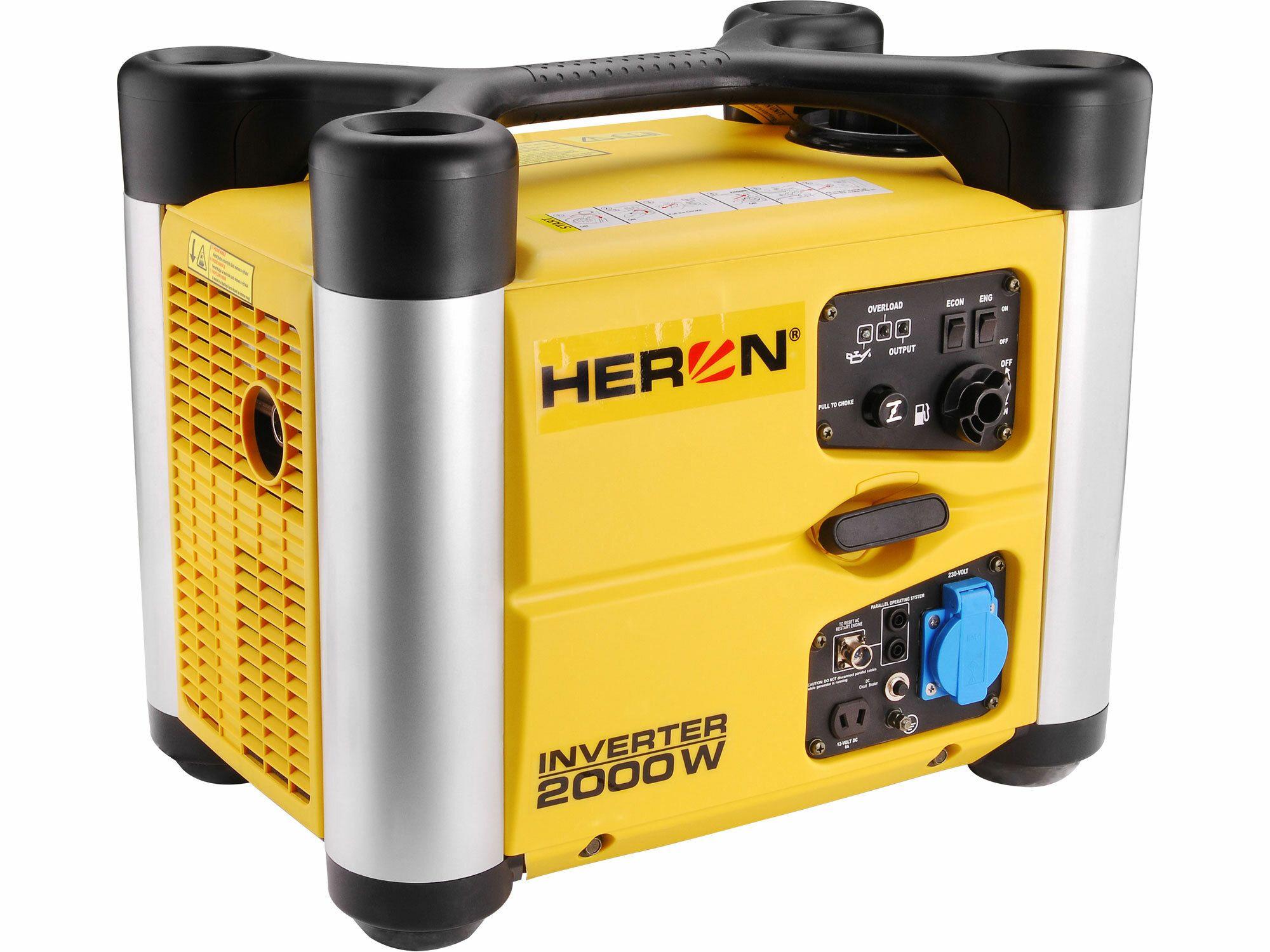Elektrocentrála digitálna invertorová 3,0HP, 2,0kW, HERON, DGI 20 SP, 8896217