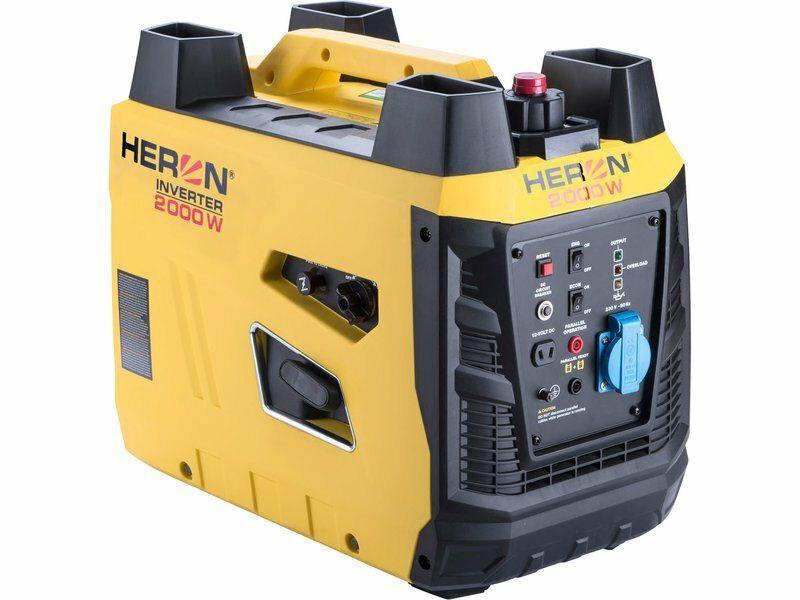 Elektrocentrála digitální invertorová 3,3HP/2kW, HERON, 8896219