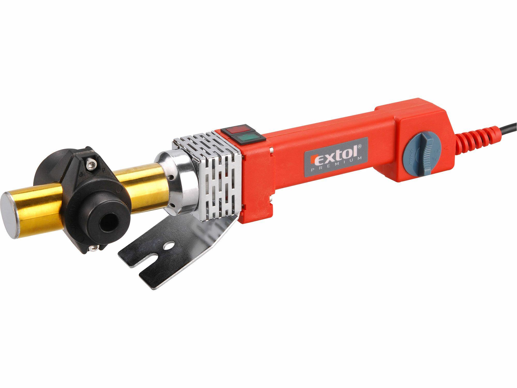 Zváračka polyfúzna, 800W, 0-300°C, EXTOL PREMIUM, PTW 80, 8897210