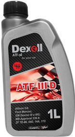 Převodový olej Dexoll ATF I I I D 1L