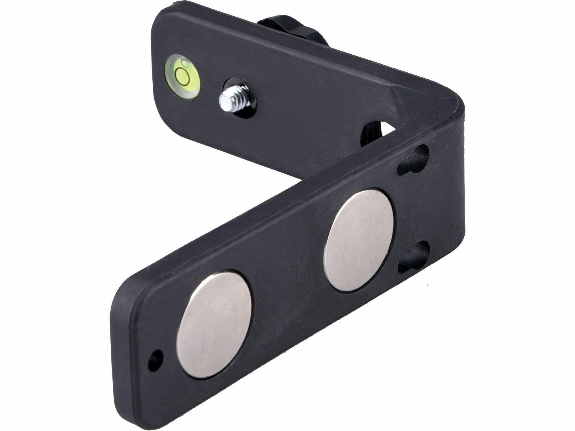 """Držák L-typ magnetický na laser/kameru, 1/4"""" šroub"""