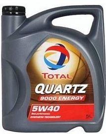 Motorový olej QUARTZ 9000 5W-40 5L Energy