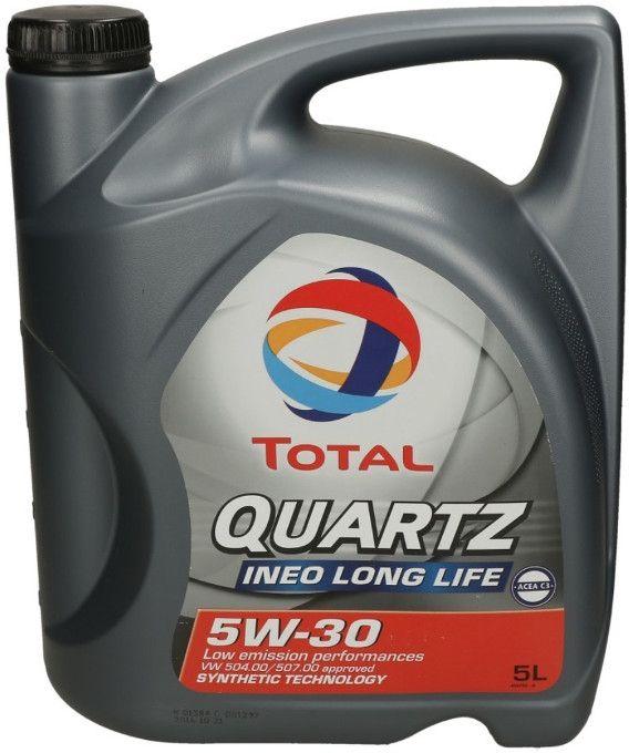 Motorový olej Total QUARTZ INEO L LIFE 5W-30 /504/507/ 5L