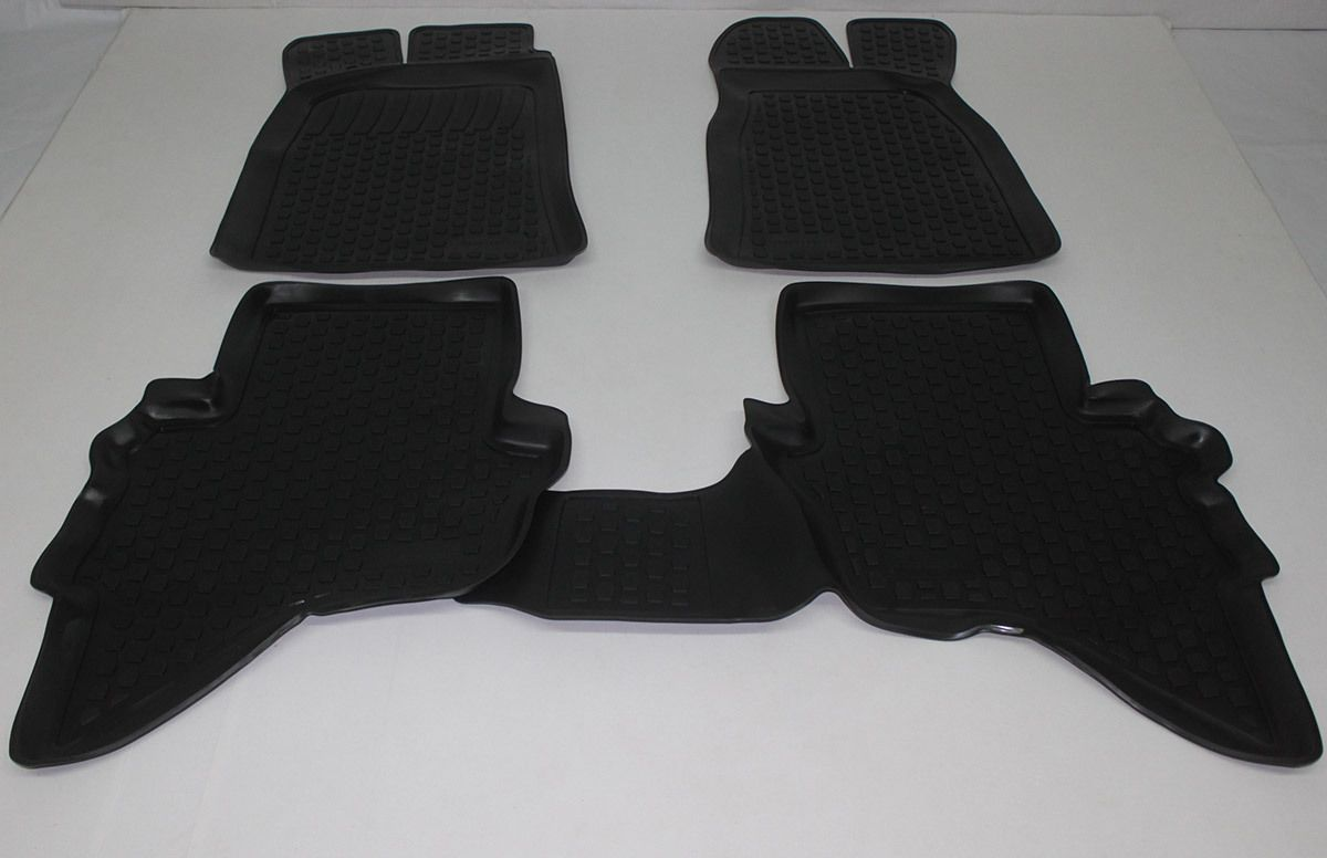 Gumové koberce Ford Ranger II (06-11) (2D)