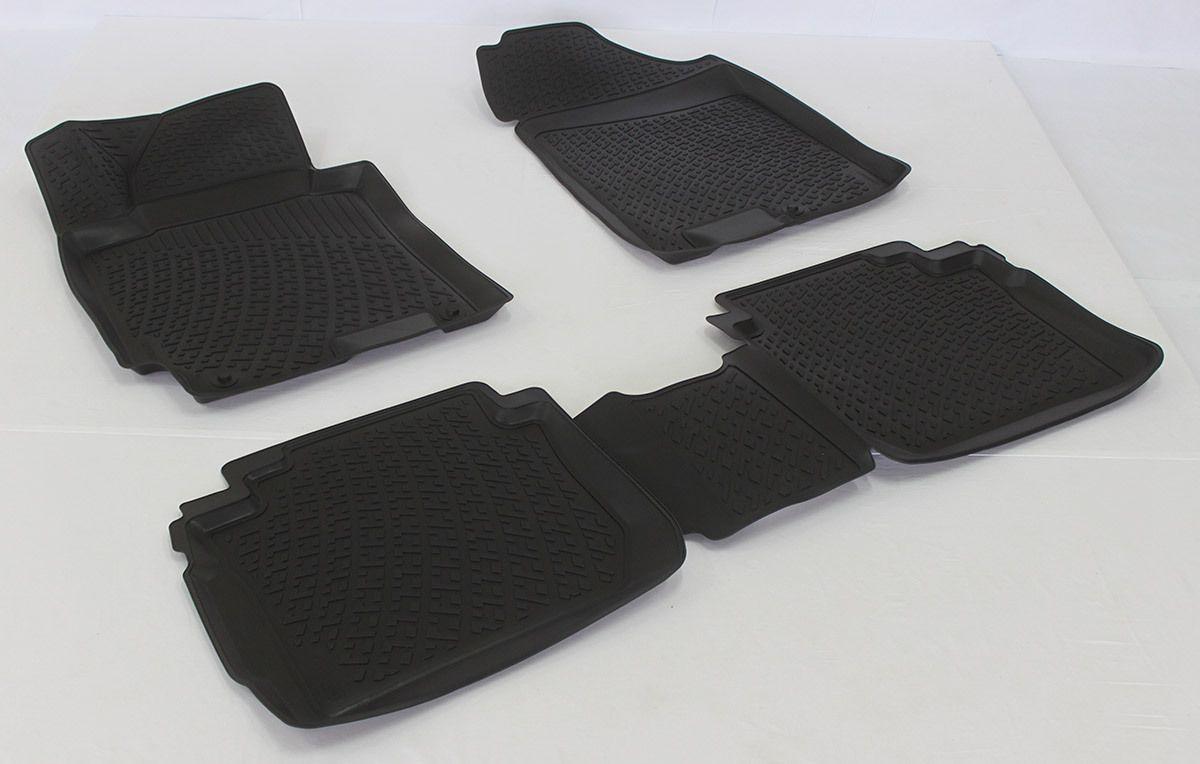 Gumové koberce Kia Cerato III Sedan (13-) (3D)