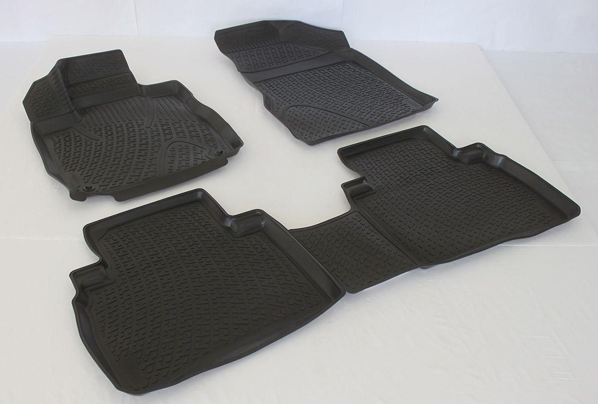 Gumové koberce Nissan Murano II (Z51) (08-14) (3D)