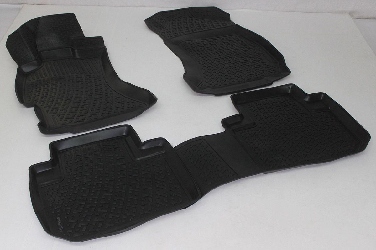 Gumové koberce Subaru Forester IV (SJ) (14-) (3D)