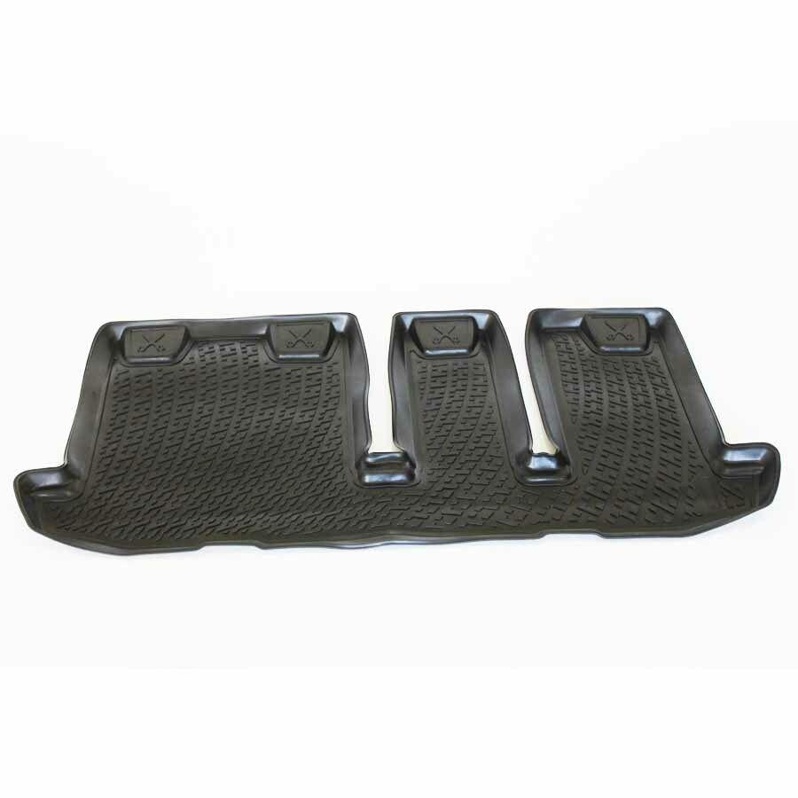 Gumové koberce Nissan Pathfinder IV (R52) (třetí řada sedadel) (12-) (3D)