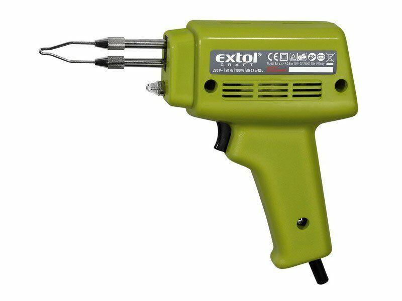 Pistole pájecí transformátorová, 100W, EXTOL CRAFT, 9920