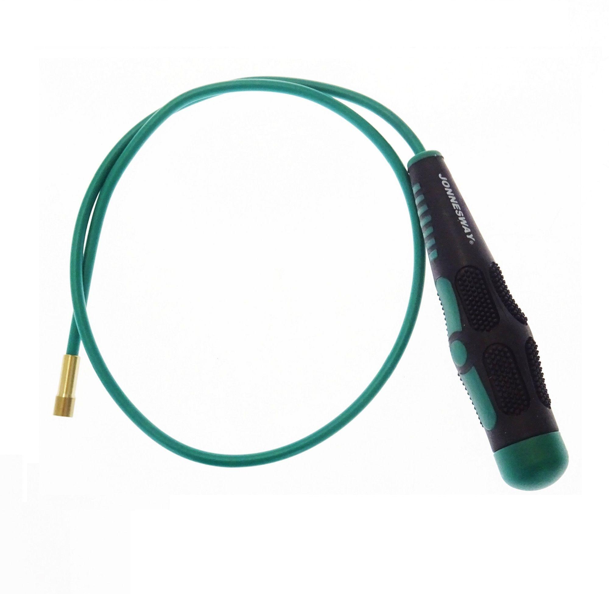 Magnetický vytahovák předmětů ohebný, délka 525 mm - JONNESWAY AG010190B