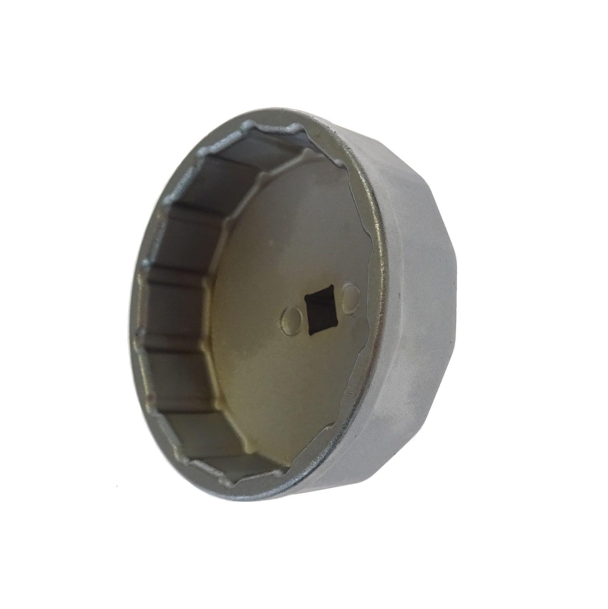 Hlavice na povolování olejových filtrů 74 mm, 14hranná - JONNESWAY AI050085A