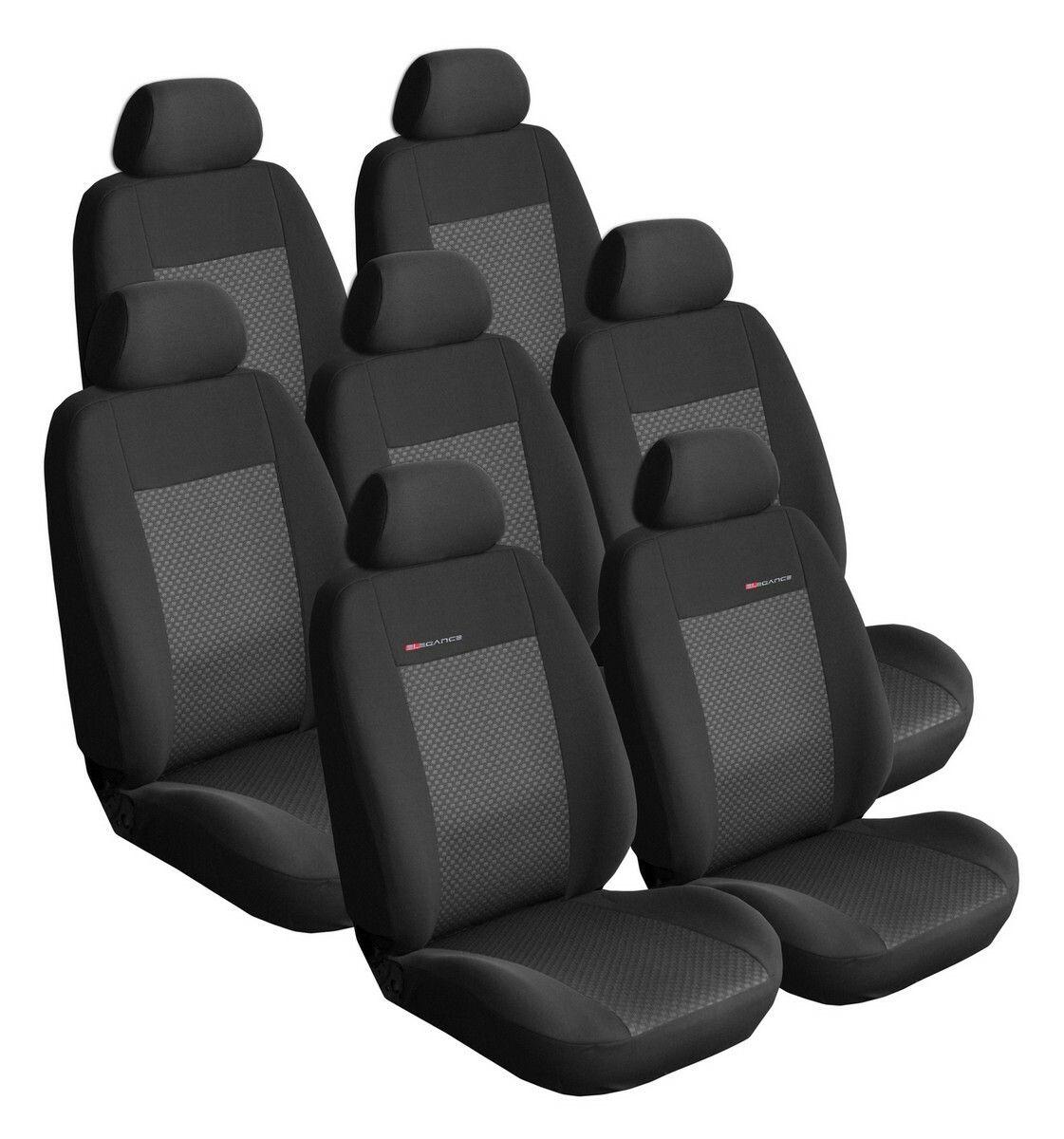 Autopotahy Citroen C8 od r. 2002, 7 míst, černé