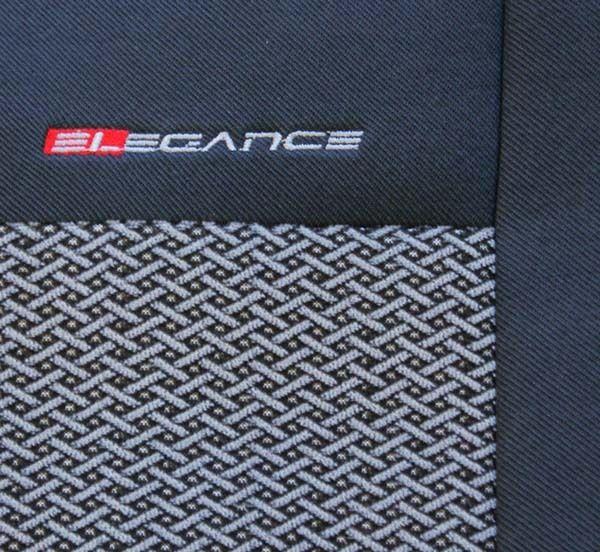 Autopotahy Citroen C3 , 5 dveř, od r. 2002 do 2008, šedo černé