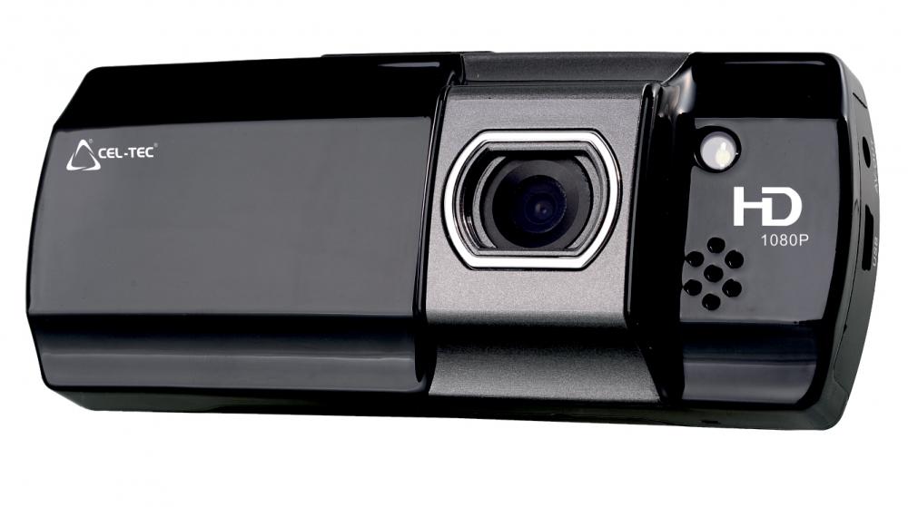Palubní kamera CEL-TEC E07, CZ menu - černá