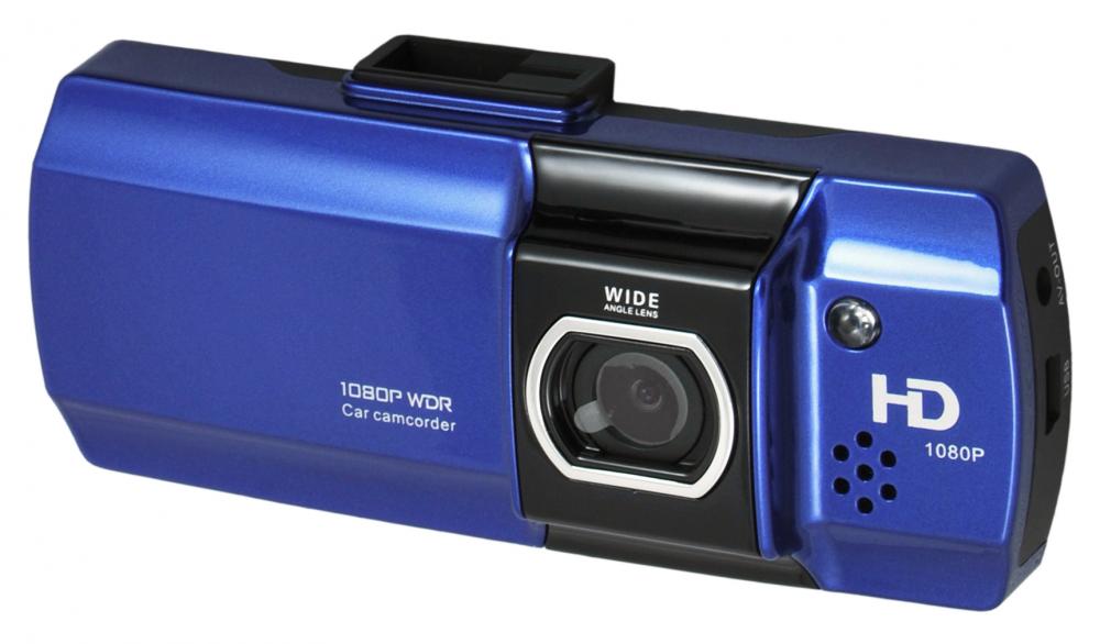 Palubní kamera CEL-TEC E07, CZ menu - modrá