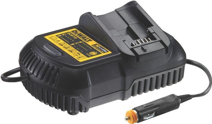 Nabíječka hodinová do auta 12V pro XR Li-lon baterie 10,8 - 18V DeWALT