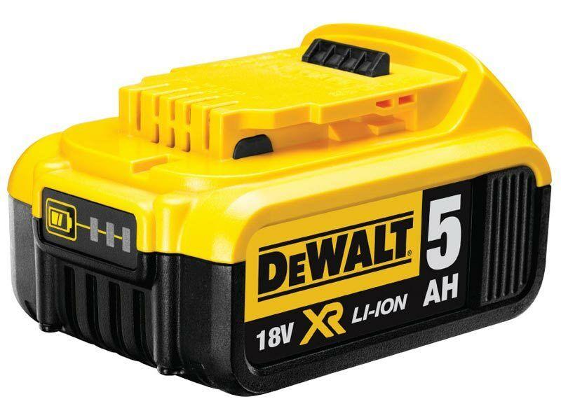 Zásuvný akumulátor 18 V XR Li-Ion 5,0 Ah, DeWalt DCB184
