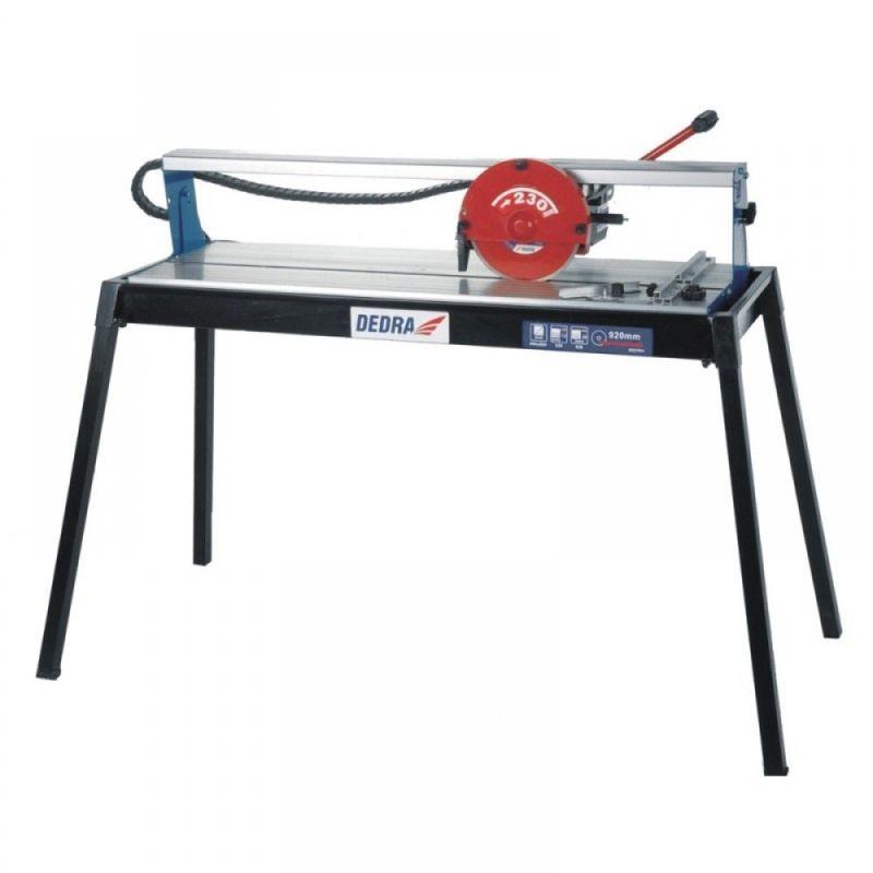 Řezačka dlaždic DEDRA 800W,kotouč 230 mm řez 930 mm