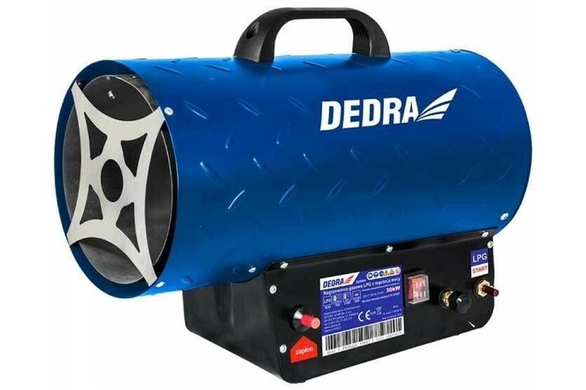 Ohřívač plynový DEDRA 18-30,0kW