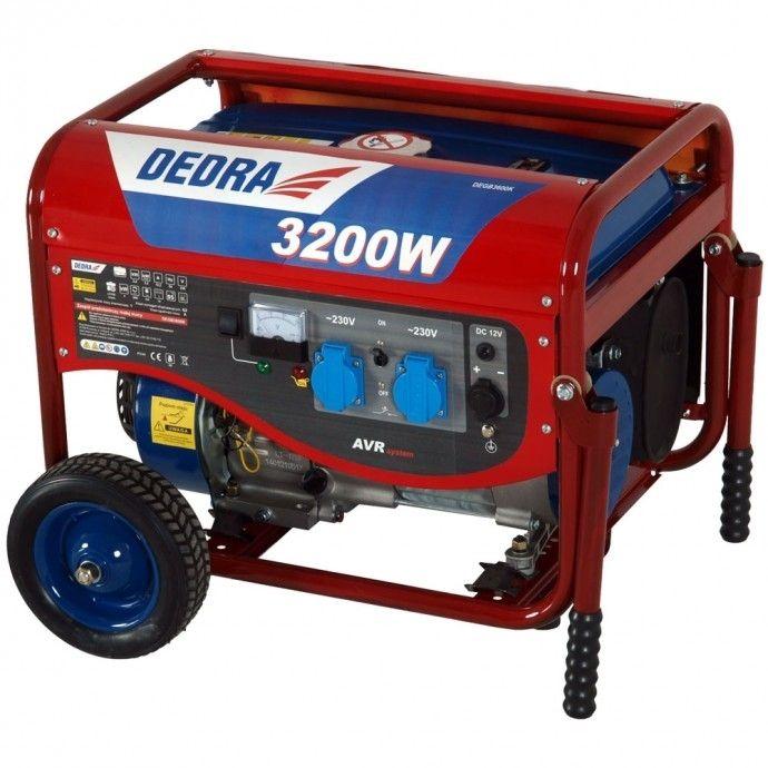 Generátor elektrického proudu DEDRA 2800W