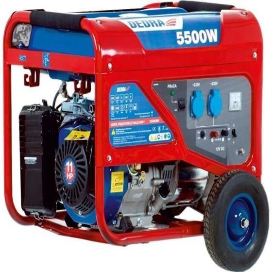 Generátor elektrického proudu DEDRA 5000W