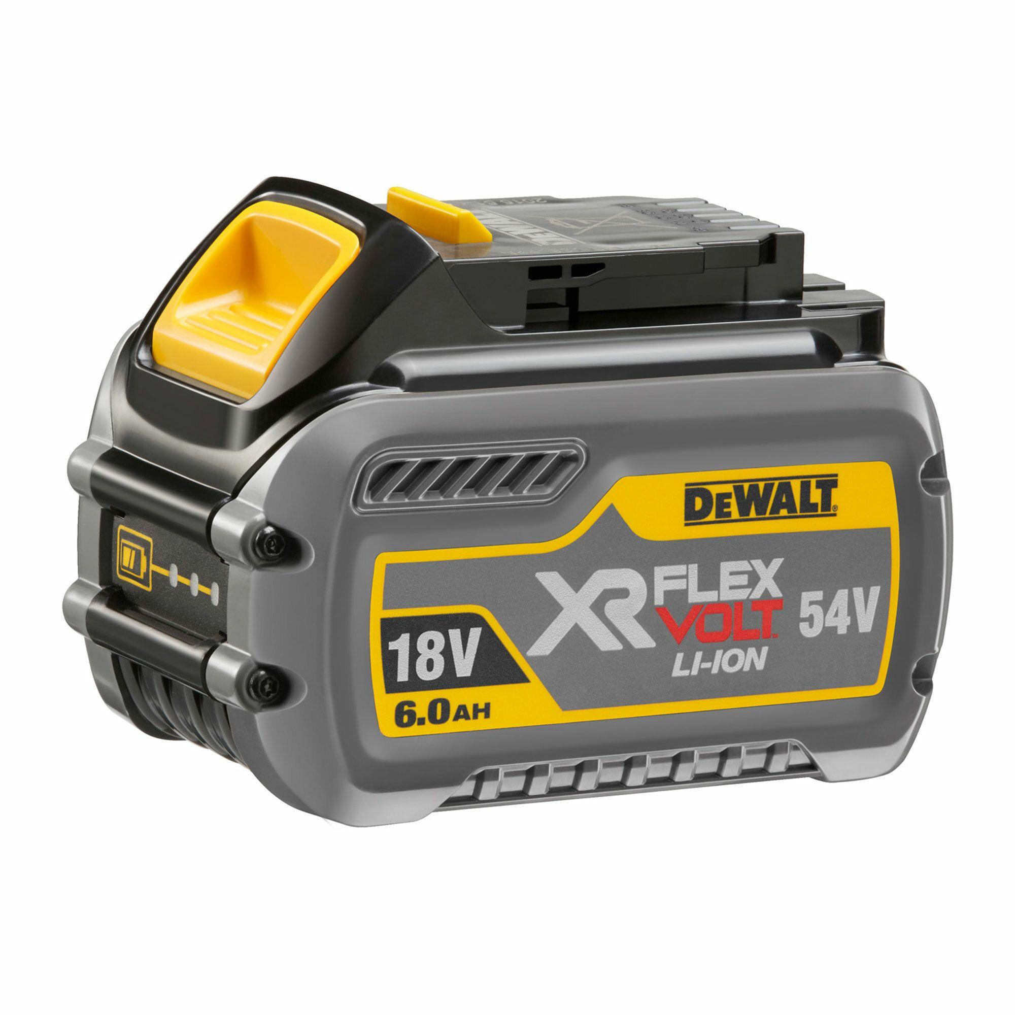 Dewalt 18/54 V XR FLEXVOLT 6,0/2,0 Ah zásuvný akumulátor